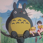 "Wall Art ""My neighbor totoro"""