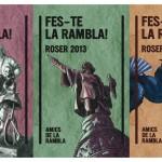"""Ilustración Publicitaria """"FES-TE LA RAMBLA"""" 1º Propuesta"""