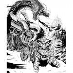 Ink Animals Kung-Fu