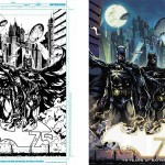 Ink and color Batman 75 Aniversario