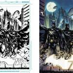 Ink and color Batman 75 Aniversario