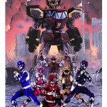 Powers Rangers Art Work